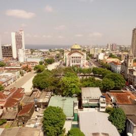 Teatro Amazonas e arredores