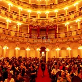 Plateia no Teatro Amazonas