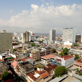 Vista do centro de Manaus