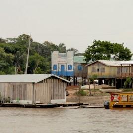 Casas sobre palafitas