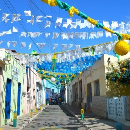 Rua enfeitada – S. Raimundo Nonato (PI)