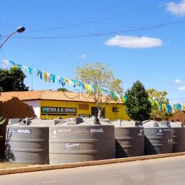 Cisternas para distribuição – Piauí