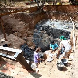 Arqueólogos no P. N. Serra da Capivara