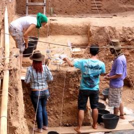 Arqueólogos no PARNA Serra da Capivara