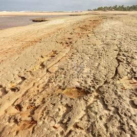 Praia de Subaúma na maré baixa