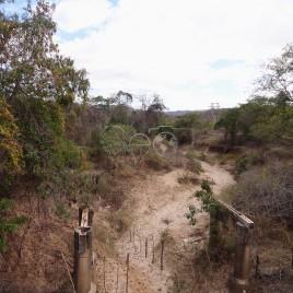 Rio seco e intermitente – Araçuaí, MG
