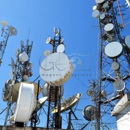 Antenas no Pico da Ibituruna