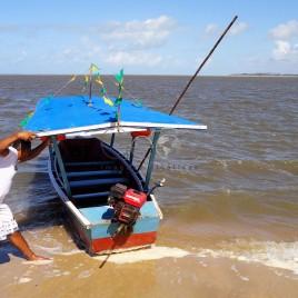 Barco a motor – Marcação, PB
