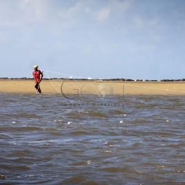 Pescador no Rio
