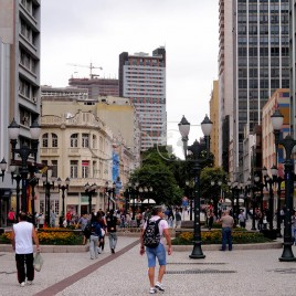 Rua XV de Novembro – Curitiba, PR