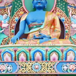 Estátua do Buda Akshobia