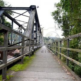 Ponte de Ferro – Blumenau, SC