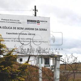 Usina Eólica de Bom Jardim da Serra (SC)