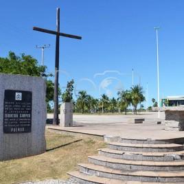 Marco do início da construção de Palmas
