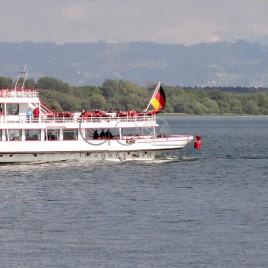 Embarcação no Lago Constança