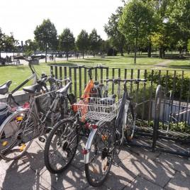 'Estacionamento' de Bicicletas