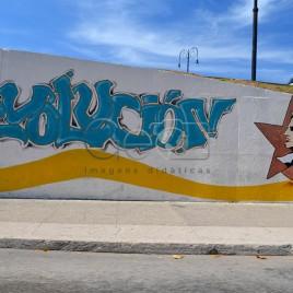 Pintura em muro – Havana (Cuba)