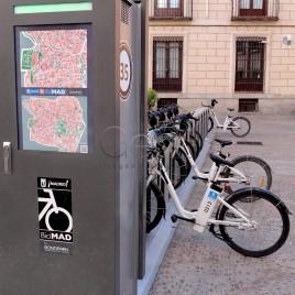 Mapas e Bicicletário – Madrid