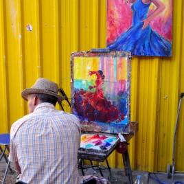 Artista de Rua – Madrid (Espanha)
