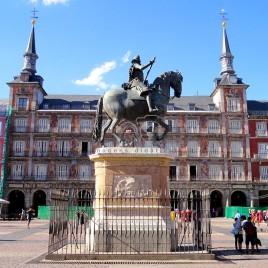Estátua de Felipe III na Plaza Mayor