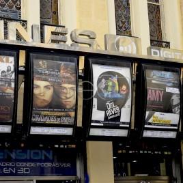 Cartazes de filmes de cinema – Madrid
