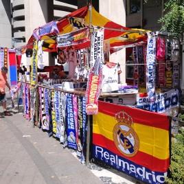 Flamulas e bandeiras – Madrid (Espanha)