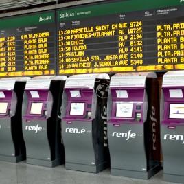 Máquina de vendas de Bilhetes de Trem