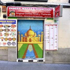 Restaurante Indiano – Madrid (Espanha)