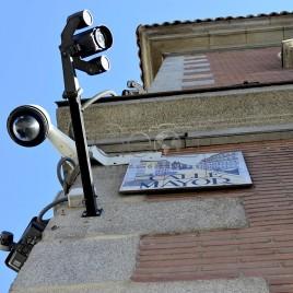 Câmeras de vigilância, Madrid (Espanha)