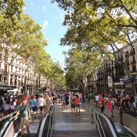 La Rambla – Barcelona (Espanha)