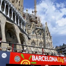 Ônibus de turismo – Barcelona (Espanha)