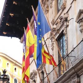 Bandeiras – Espanha – União Europeia