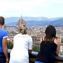 Turistas – Florença (Itália)