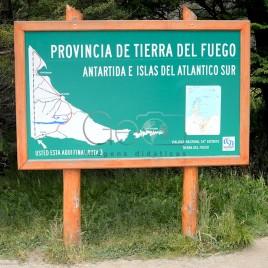 Placa indicando o Final da Ruta 3