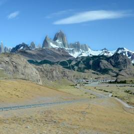 Estrada para El Chaltén – Argentina