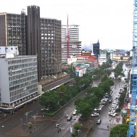 Vista de Nairóbi – Quênia