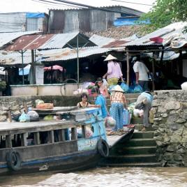 Comércio – Rio Mekong