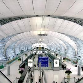 Terminal de passageiros, Aeroporto de Bancoque (Bangkok)