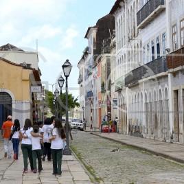 Estudantes visitam Centro Histórico