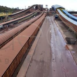 Transporte de minérios – Porto de Itaqui