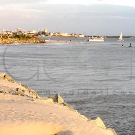 Ponta D'Areia em Maré alta