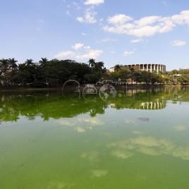 Lagoa da Pampulha eutrofizada