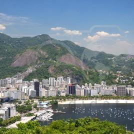 Vista do Corcovado e Baía de Guanabara