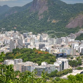 Vista do Morro do Corcovado