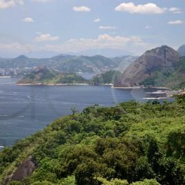 Baía de Guanabara em Niterói