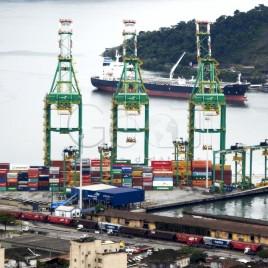 Guindastes do Porto de Santos