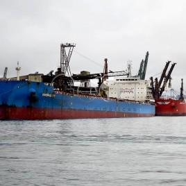 Porto de Santos – Navios atracados