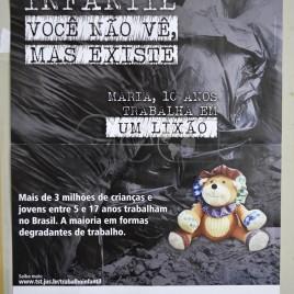 Campanha contra o trabalho infantil