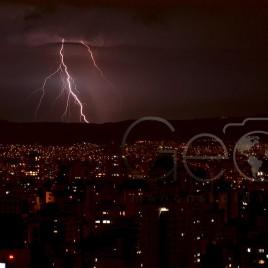 Tempestade de Raios em São Paulo