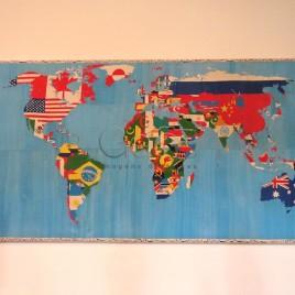 Mapa Mundi – Nova Ordem Mundial